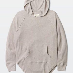 Aritzia waffle hoodie